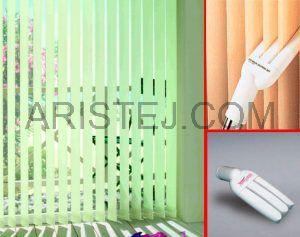 Догляд за тканинними жалюзі (вертикальними і горизонтальними)